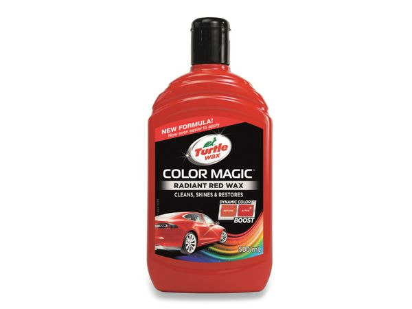 Autowachs TURTLE WAX Color Magic, 500 ml, rot