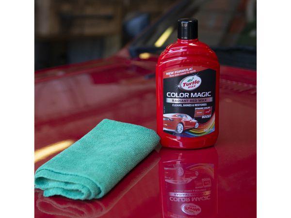 Autowachs TURTLE WAX Color Magic, 500 ml, rot - Produktbild 3