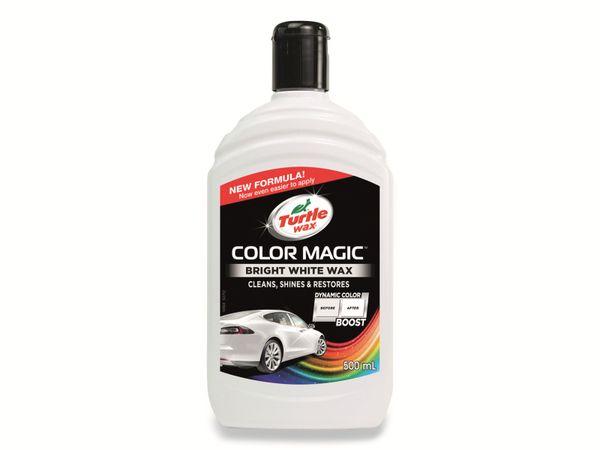 Autowachs TURTLE WAX Color Magic, 500 ml, weiß