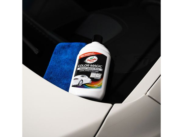 Autowachs TURTLE WAX Color Magic, 500 ml, weiß - Produktbild 2