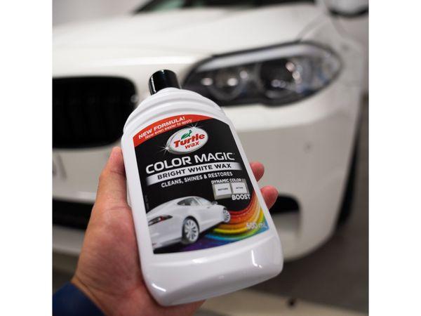 Autowachs TURTLE WAX Color Magic, 500 ml, weiß - Produktbild 3