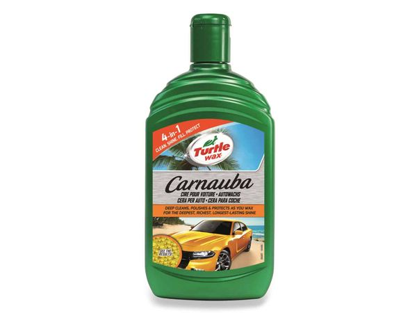 Autowachs TURTLE WAX Carnauba, 500 ml