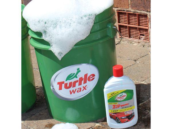 Autoshampoo TURTLE WAX Zip Wax, 500 ml - Produktbild 2