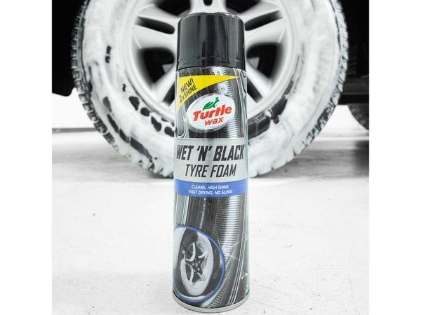 Reifenschaum TURTLE WAX Wet 'N' Black, 500 ml - Produktbild 4