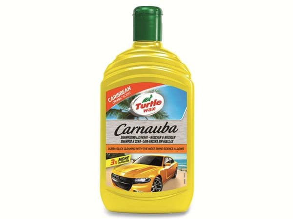 Glanzshampoo TURTLE WAX Carnauba Wash & Wax, 500 ml