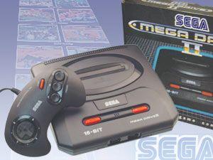 Spielekonsole Sega Mega Drive II
