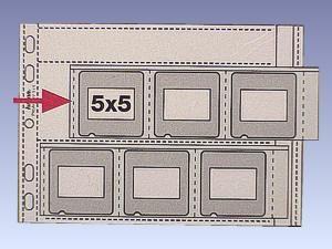 Dia-Ablagehüllen A5/50-50