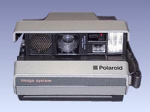 Polaroid-Kamera image system