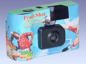 Einweg-Kamera