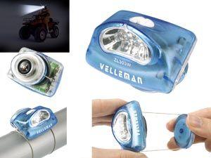 LED-Headlight mit Kompass