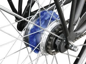 Fahrrad-Nabenputzringe