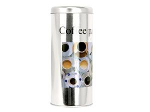 Kaffee-Pad Aufbewahrungs-Dose