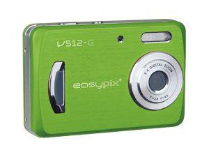 """Digitalkamera EasyPix V512 """"style"""" green"""