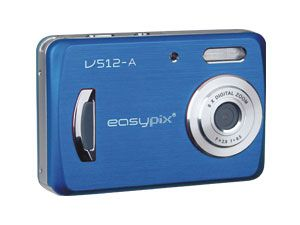 """Digitalkamera EasyPix V512 """"style"""" blue"""