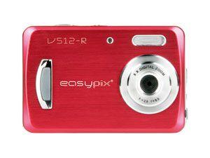 """Digitalkamera EasyPix V512 """"style"""" red"""