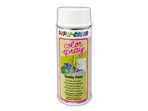 Kunstharzlackspray DUPLI-COLOR, weiß matt