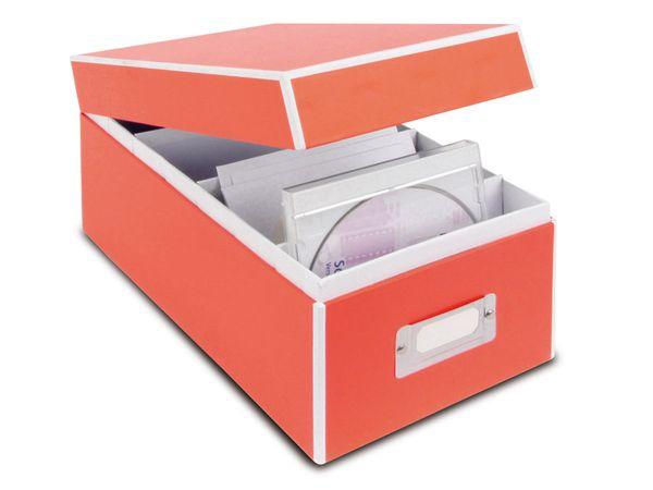 CD-/Fotobox, orange