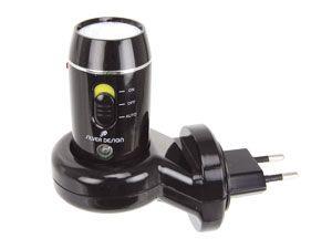 LED-Taschenlampe mit Not-/Nachtlichtfunktion SILVER DESIGN NL300 - Produktbild 1