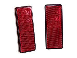 Reflektor mit Klebefläche, rot, 2 Stück - Produktbild 2