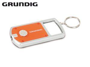 LED-Taschenlampe mit Schlüsselanhänger und Lupe GRUNDIG