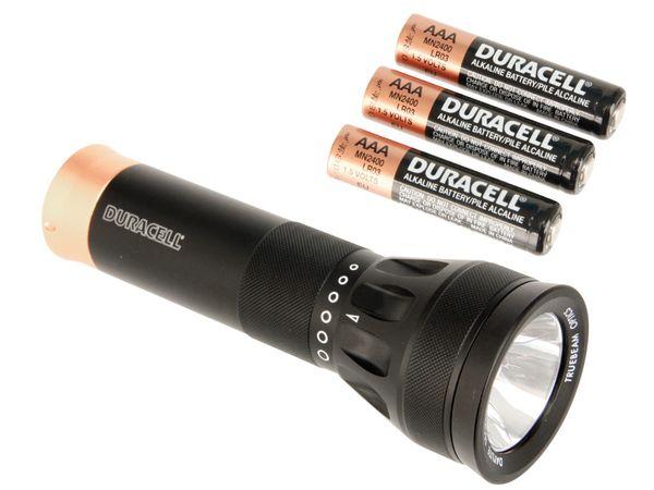 LED-Taschenlampe mit 3 W-LED DURACELL DAYLITE - Produktbild 1