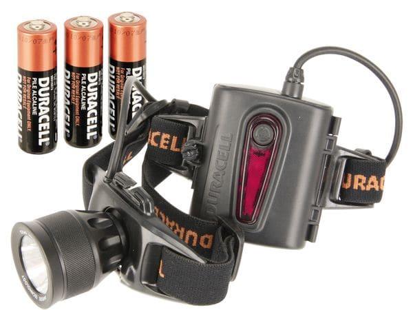 LED-Headlight mit 3 W-LED DURACELL DAYLITE - Produktbild 1