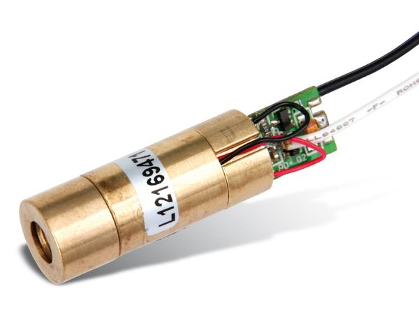 Laser-Modul GLM-01-5D, 4 mW, grün - Produktbild 1