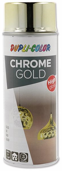 Effektspray DUPLI-COLOR, chrome gold, 400 ml