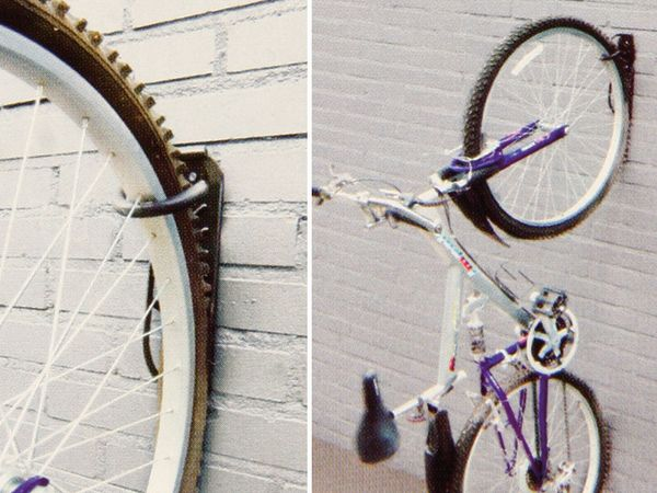 Fahrrad-Wandaufhängung, 2 Stück - Produktbild 3