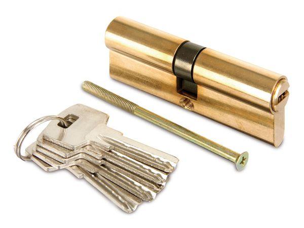 Sicherheits-Schließzylinder, 80 mm