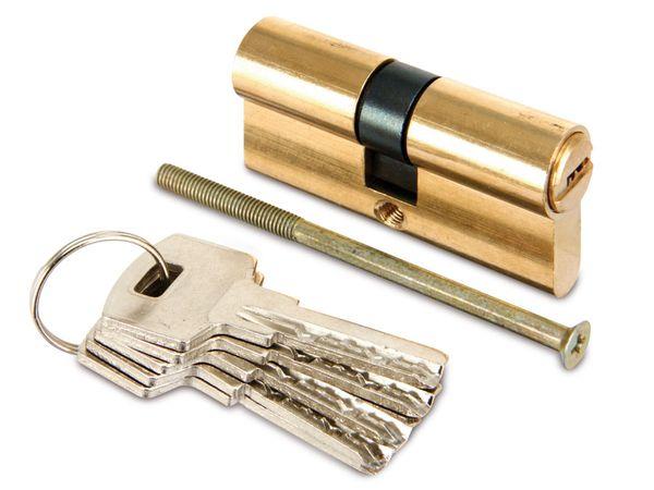 Sicherheits-Schließzylinder, 60 mm