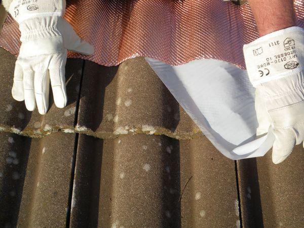 Dach-Kupferband mit 4 Längssicken, 5 m Rolle - Produktbild 3