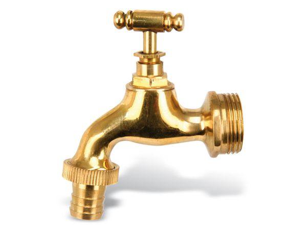 """Wasserhahn, 3/4"""", Messing - Produktbild 1"""
