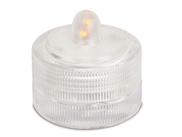 LED-Flackerkerze, 2er Set, schwimmend