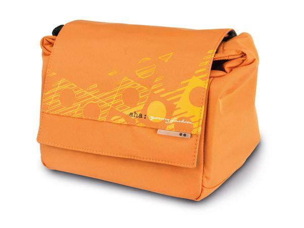 Kameratasche HAMA 130 RASMUS, orange - Produktbild 1