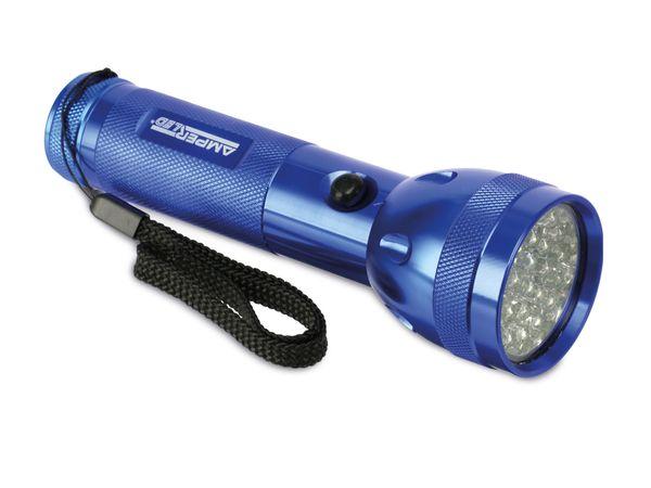 LED-Taschenlampe AMPERCELL MULTI LED 28, blau - Produktbild 1
