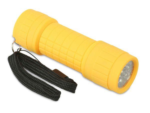 LED-Taschenlampe AMPERCELL AMPERLED PICCOLINO, gelb