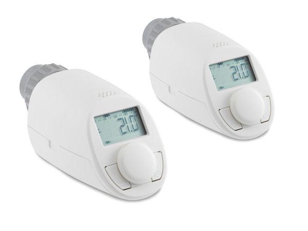 Heizkörper-Thermostatkopf EQIVA Model N, 2er-Set - Produktbild 1