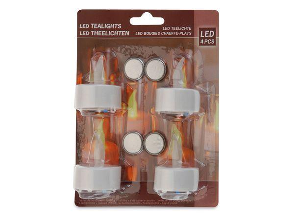 LED-Teelichte, 4er Set - Produktbild 3