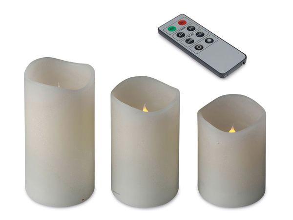 LED-Flackerkerzen-Set, 3-teilig - Produktbild 1