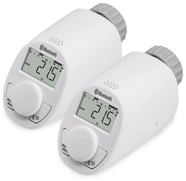 Heizkörper-Thermostatkopf EQIVA mit Bluetooth, 2 Stück - Produktbild 6
