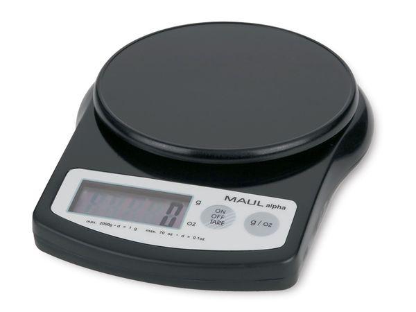 Briefwaage MAULalpha, 2000 g, schwarz