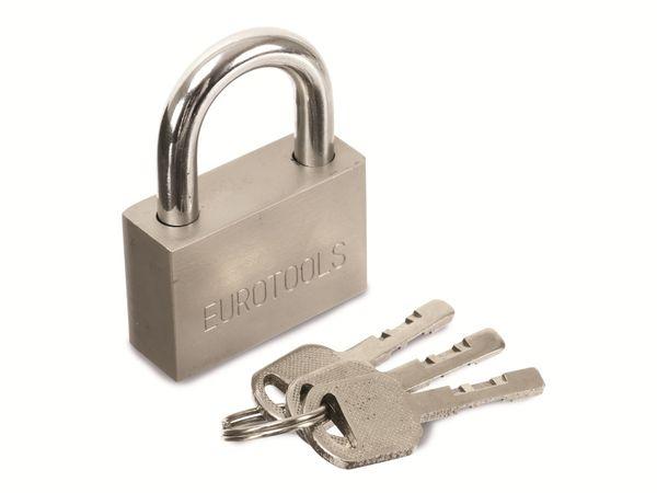 Sicherheits-Vorhängeschloss EUROTOOLS - Produktbild 1