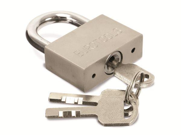 Sicherheits-Vorhängeschloss EUROTOOLS - Produktbild 2