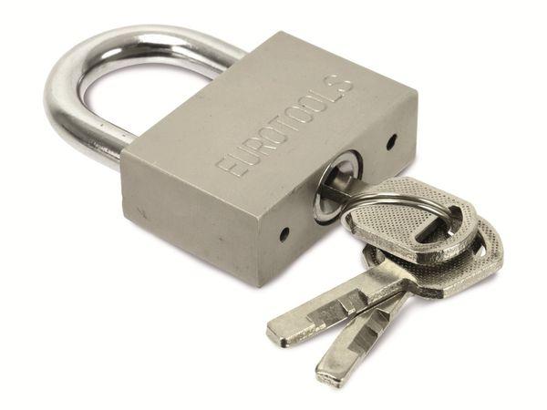 Sicherheits-Vorhängeschloss EUROTOOLS - Produktbild 3