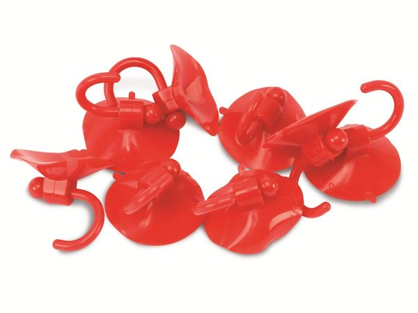 Saughaken, rot, 10 Stück - Produktbild 1