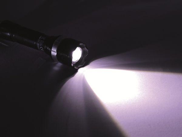 LED-Taschenlampe mit Zoom- und Blinklichtfunktion - Produktbild 3