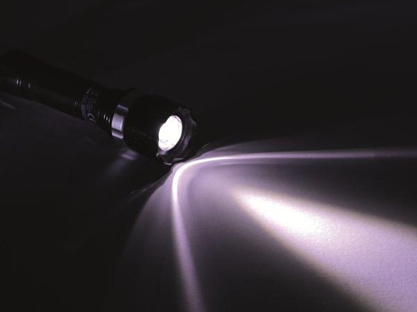 LED-Taschenlampe mit Zoom- und Blinklichtfunktion - Produktbild 4