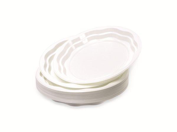 Einweg-Teller, Ø 22 cm, 50 Stück