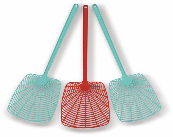 Fliegenklatschen-Set, 3 Stück - Produktbild 1